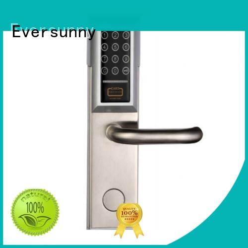 Eversunny handle password door lock system energy-saving for office