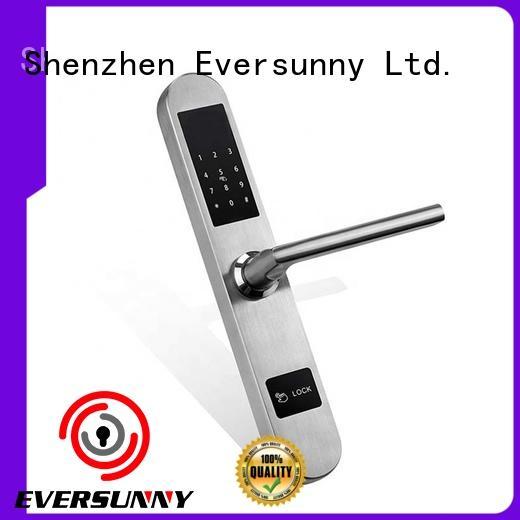 Eversunny bridge password door lock system touch screen for apartment