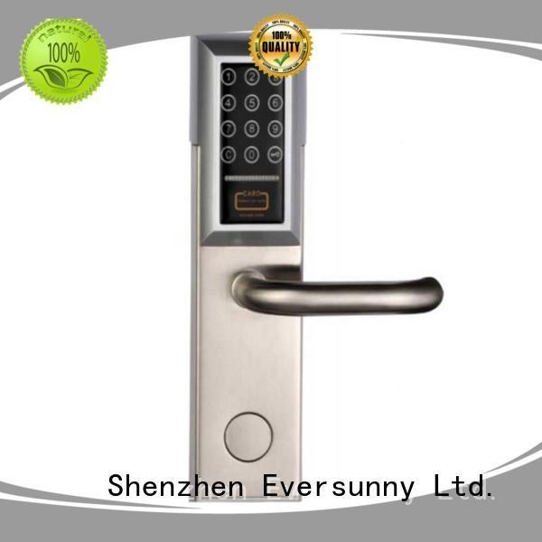 Eversunny password door lock touch screen for office