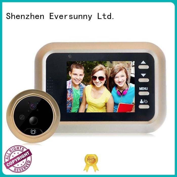 Eversunny door peephole viewer LCD for office