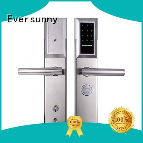 Eversunny display punch code door locks entry home for hotel