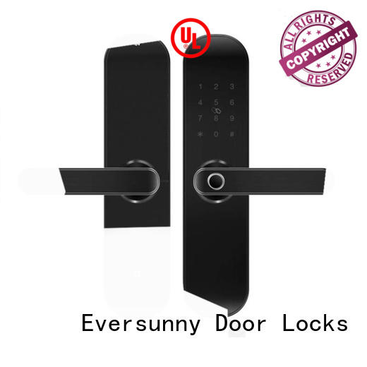 intelligent keyless entry door lock front supplier for residence