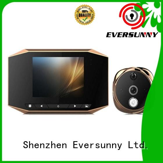 30ah door peephole camera motion activated monitor for home Eversunny