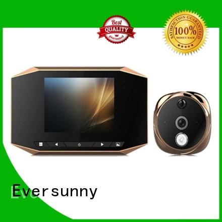 Eversunny electronic peephole camera with motion sensor Energy-saving for apartment