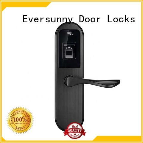 Eversunny fingerprint front door lock handle for office