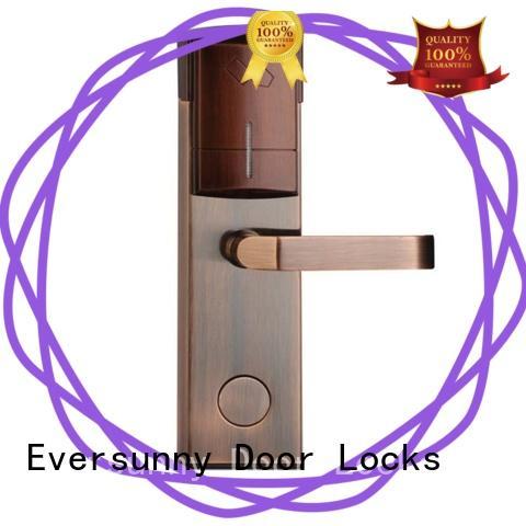 safe swipe card door lock stainless steel for door