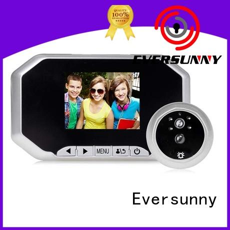 motion front door motion sensor camera LCD for apartment Eversunny