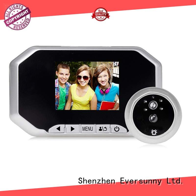 Eversunny camera motion activated digital peephole manufacturer for home
