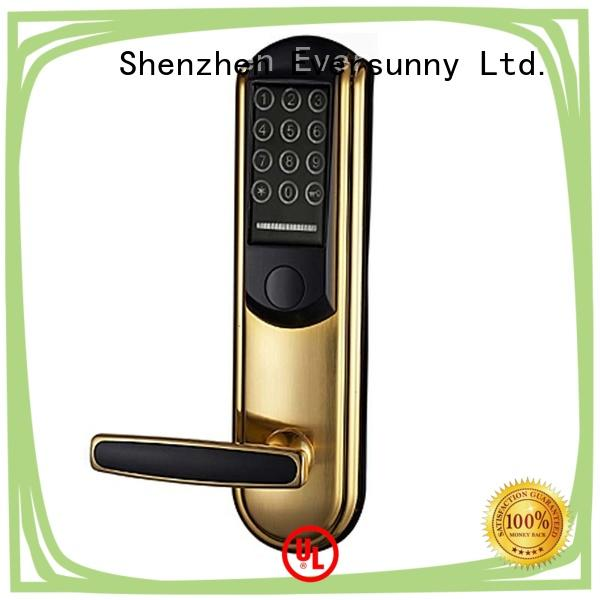 Eversunny front pin code door lock touch screen for apartment