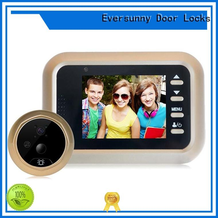 35 digital door viewer with motion sensor digital for home Eversunny