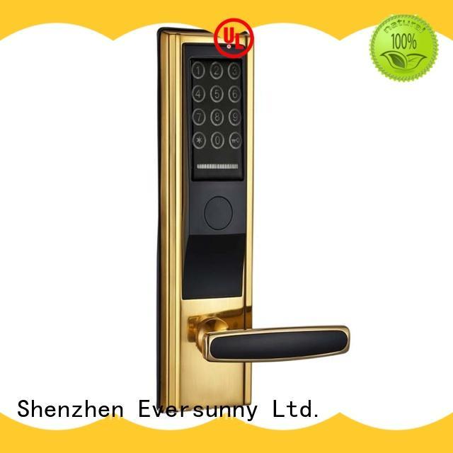 keypad password door lock screen smart for hotel