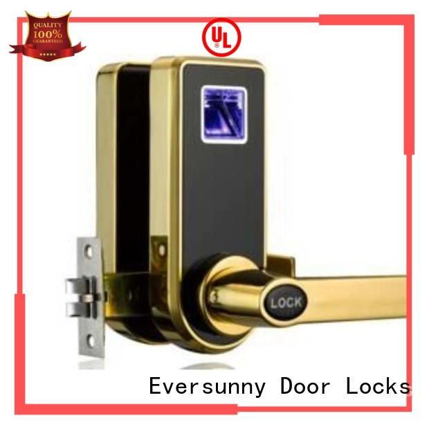 Eversunny ushaped safe fingerprint lock entry system for home