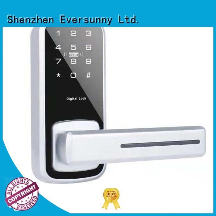 Eversunny front code door lock energy-saving for hotel