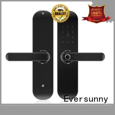 Eversunny reliable fingerprint scanner door lock factory price for residence