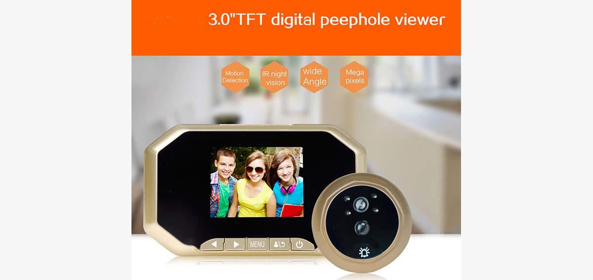 Eversunny door door eye viewer LCD for apartment-1