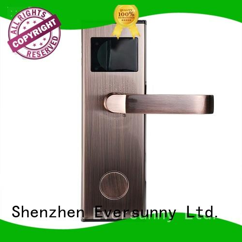 Eversunny practical card door entry system hotel smart locks for home
