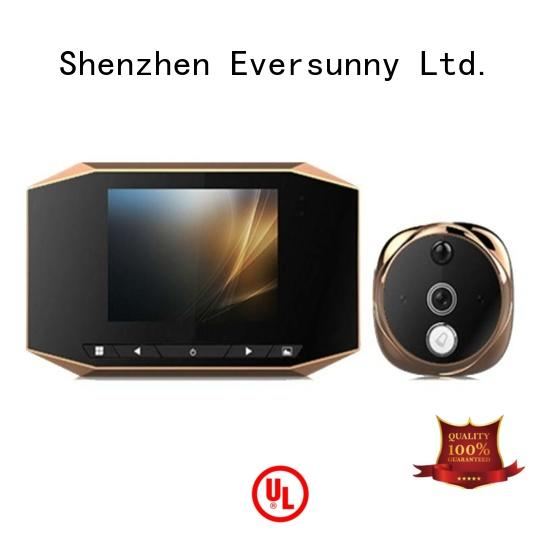 Eversunny door peephole viewer Energy-saving for apartment