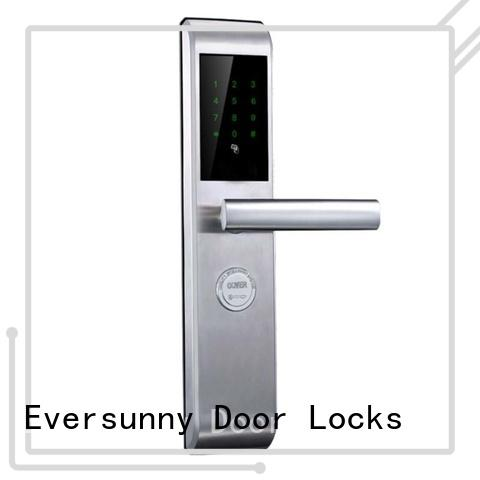 security punch code lock touch screen for hotel