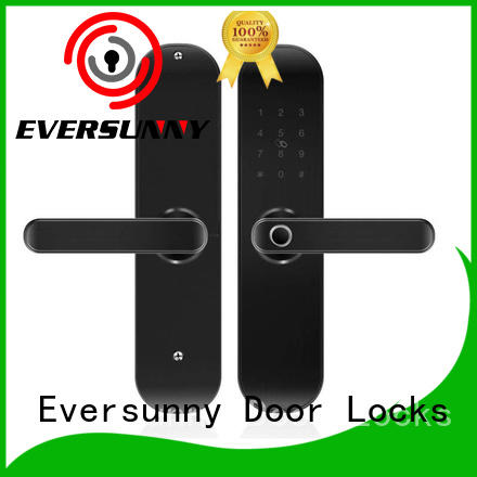 smart keyless door lock touch screen for office