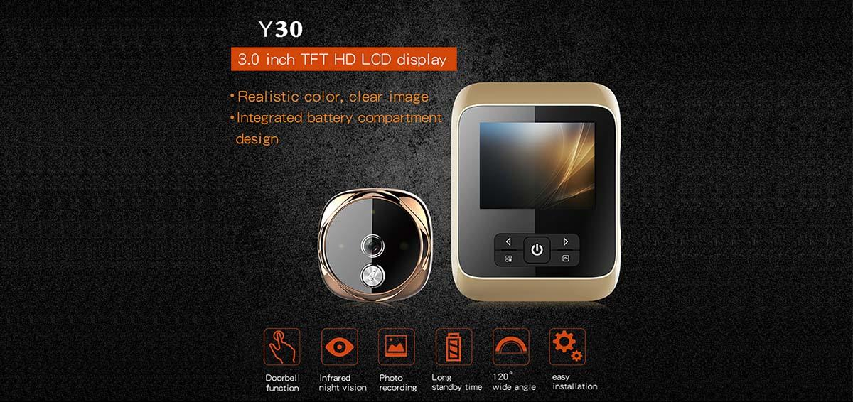 Eversunny tft digital door viewer china automatically for sliding door-1