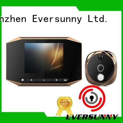 Eversunny security door viewer with motion sensor lens for front door