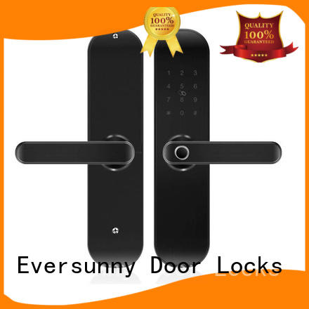 Eversunny keyless door lock front door for villa