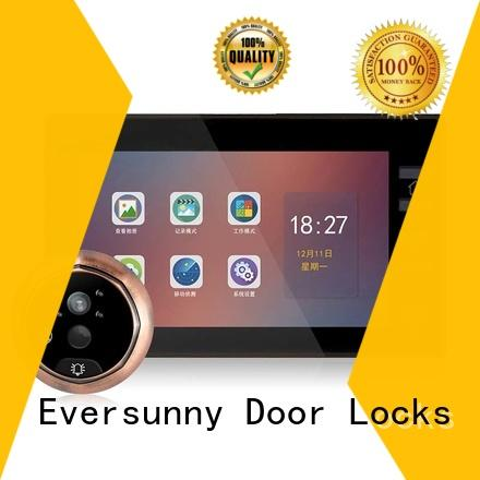 electronic front door motion sensor camera intelligent for apartment Eversunny