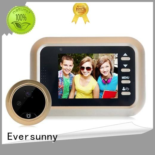 Eversunny multiple-digit smart digital door viewer peephole for Aluminum alloy door