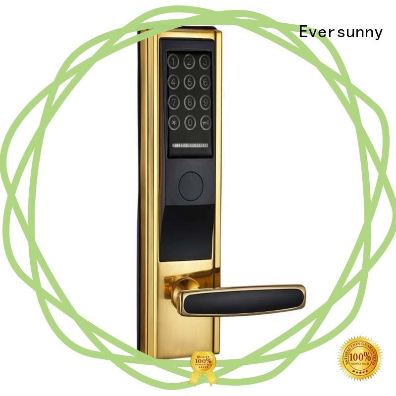 Eversunny multiple-digit key code door lock touch screen for hotel