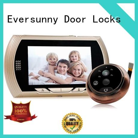 Eversunny convenient wifi peephole door viewer Video intercom for peepholecam