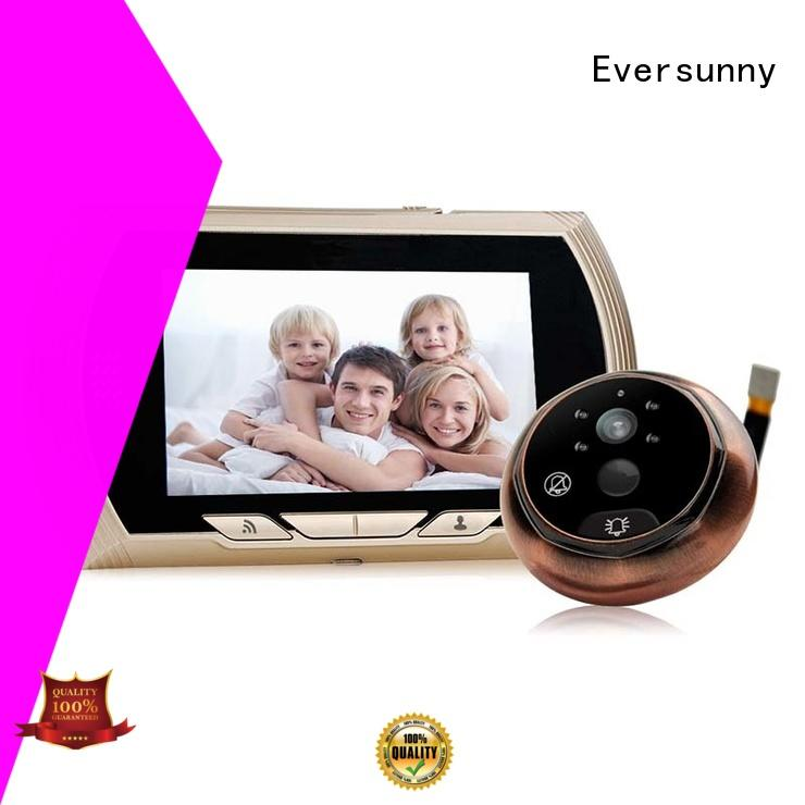 visual wifi video doorbell remote for peepholecam Eversunny