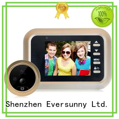 Eversunny security digital door viewer with motion sensor manufacturer for apartment