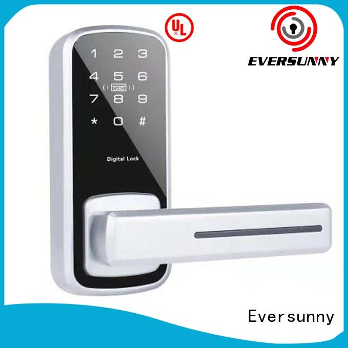 Eversunny keyless key code door lock energy-saving for apartment