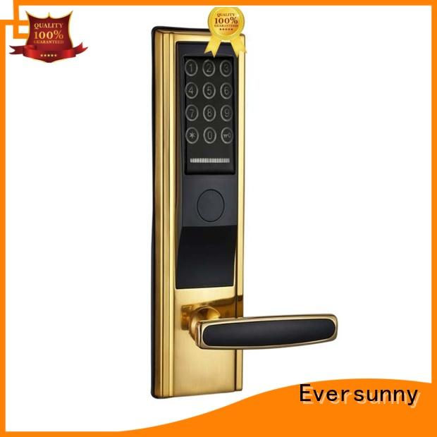 Eversunny keypad security locks for doors with code energy-saving for office
