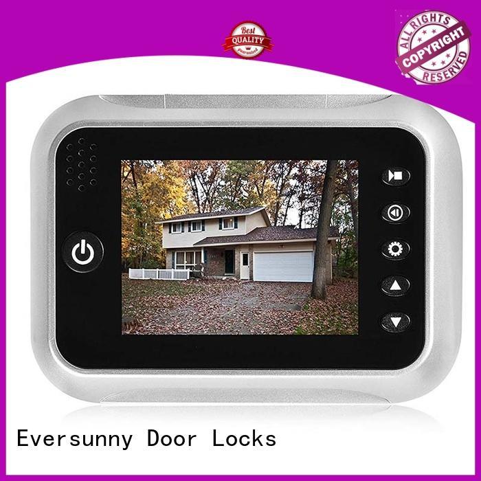 Eversunny best digital door peephole with wide angle for broken bridge