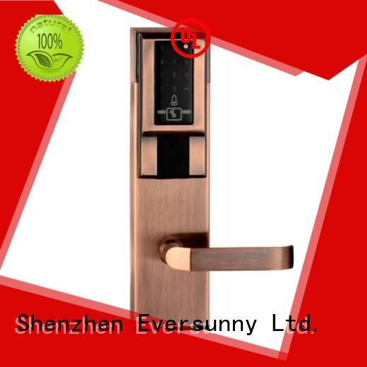 pin code front door lock smart for door Eversunny