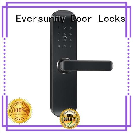 electronic passcode door lock touch screen for apartment