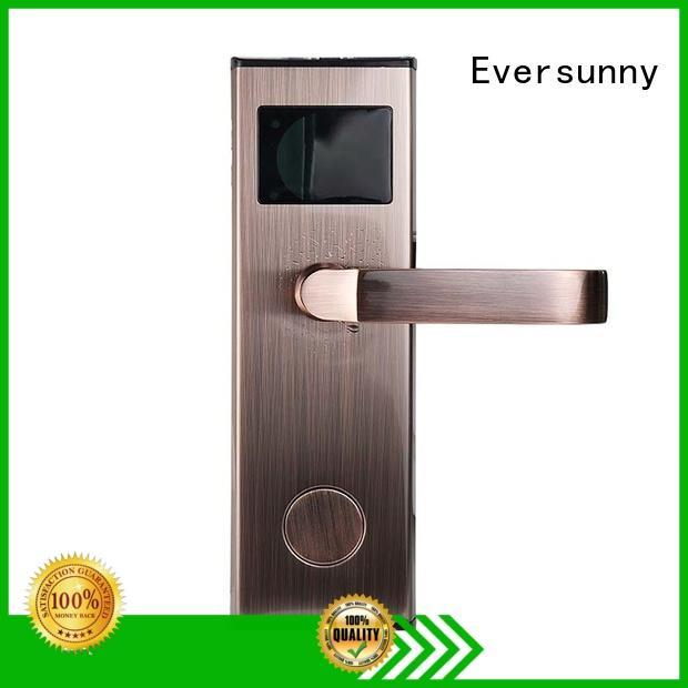 Eversunny rfid card door lock system international standard for door