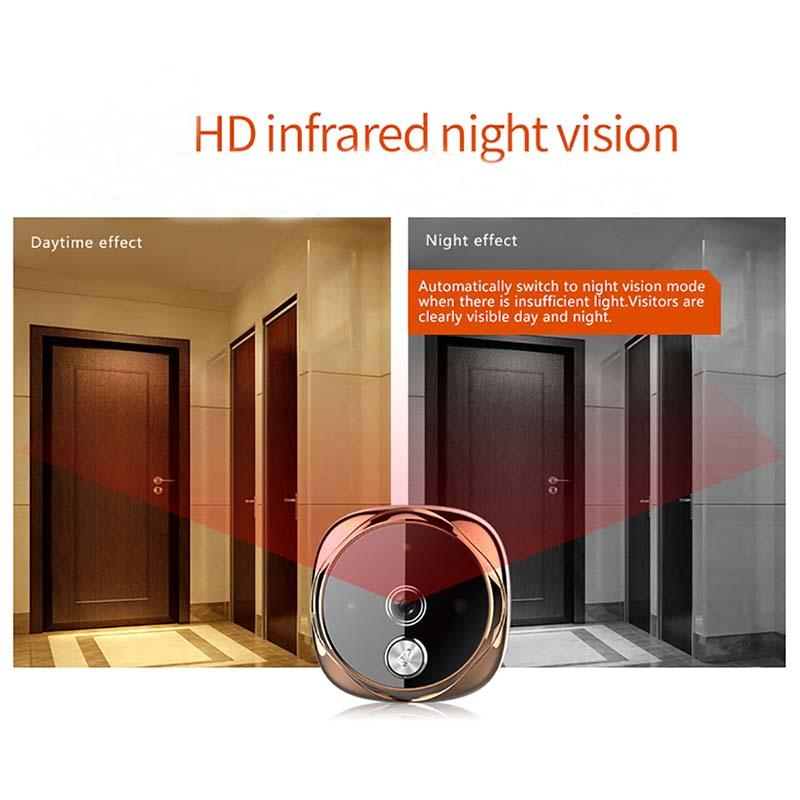 Eversunny tft digital door viewer china automatically for sliding door-3