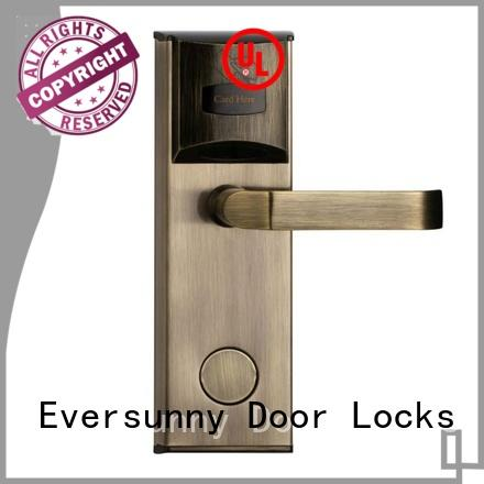 Eversunny lock card access locks with central management control system for apartment