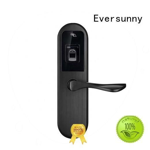 Eversunny durable security fingerprint lock door interior rooms