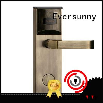 key unlock door with card stainless steel home Eversunny