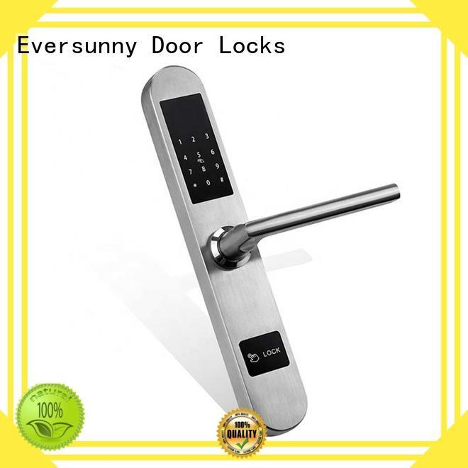 Bridge-cut  Aluminium Alloy Glass Keyless  Electronic Code Door Lock