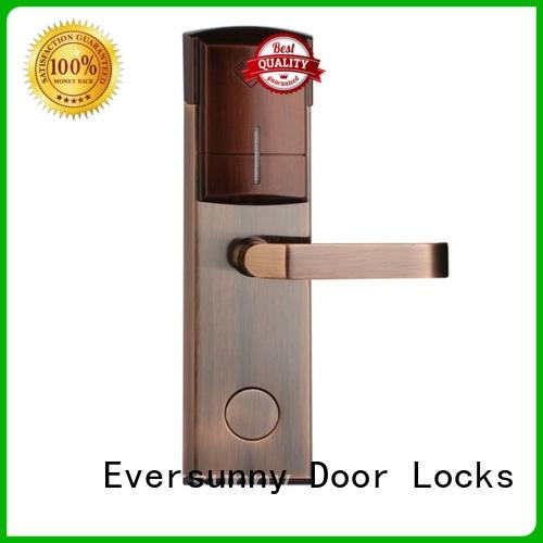 Eversunny card card lock system stainless steel for apartment