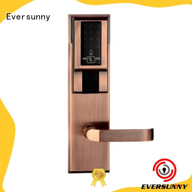 Eversunny keypad gate lock with code energy-saving for hotel