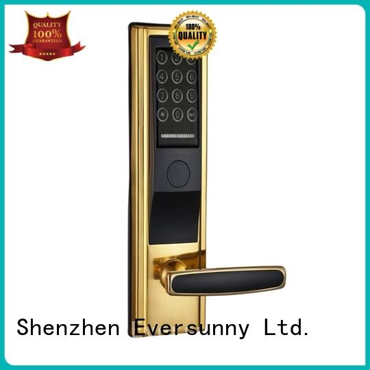 Eversunny front door lock with code smart for apartment