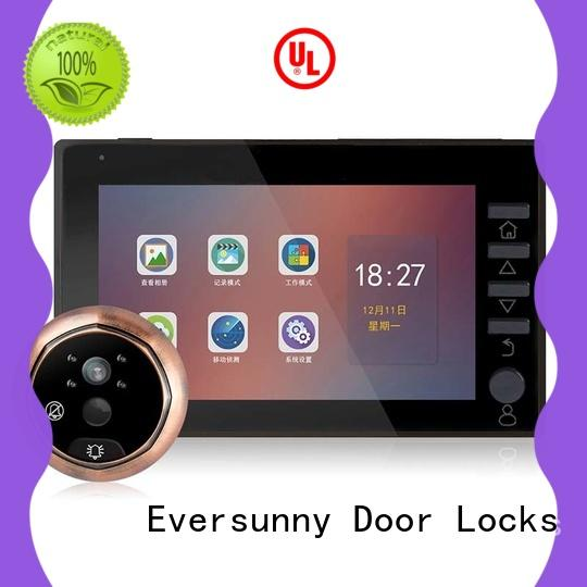 professional motion activated digital peephole Large angle for front door
