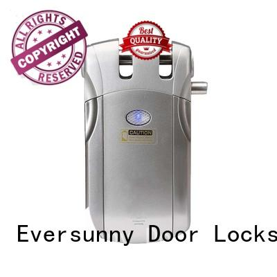 Eversunny smart electronic door lock with remote control mobile controlled for residence
