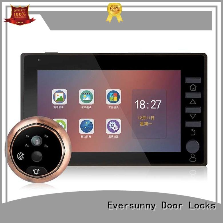 Visual  Peephole Door Viewer LCD Security Camera Monitor  45CH