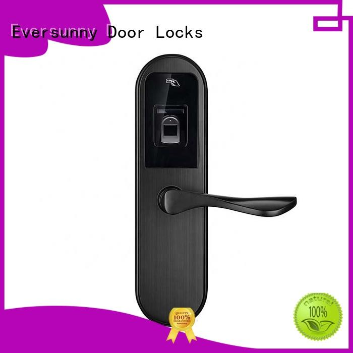 Eversunny durable security fingerprint lock handle for office